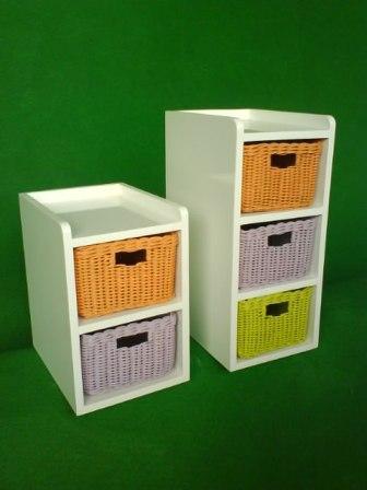 rak rotan 5 susun bahan rotan lemari mdf finishing duco colour ukuran ...